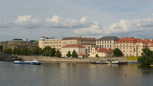 Rio Vltava - foto de acervo