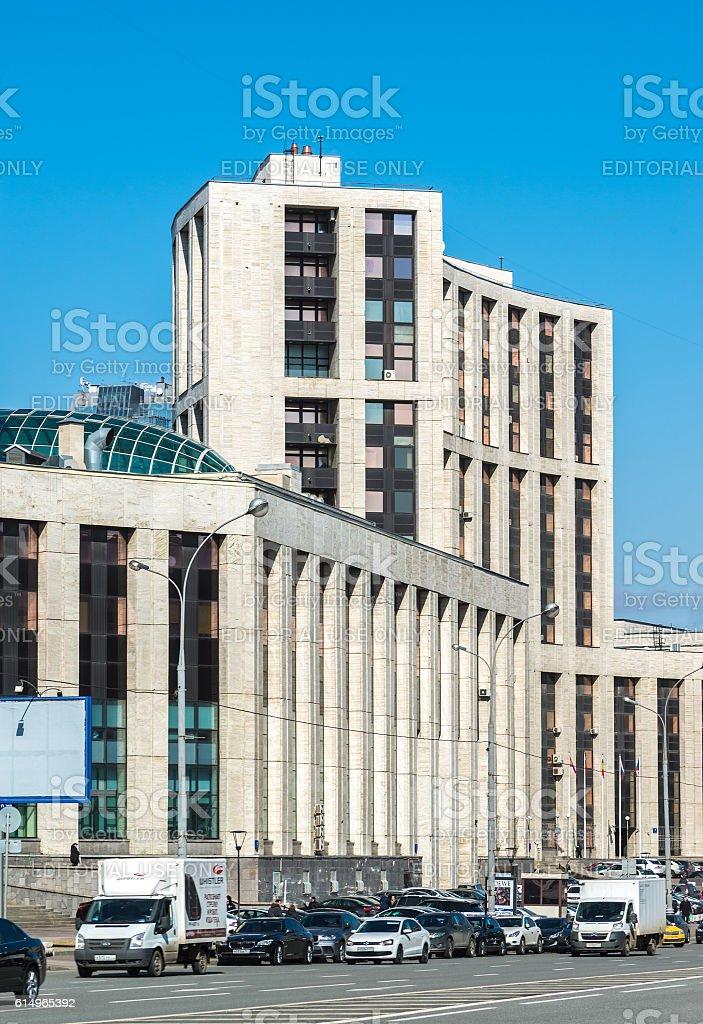 Vnesheconombank on Academician Sakharov Prospect стоковое фото