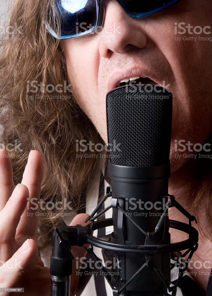 Vocal Track royalty-free stock photo