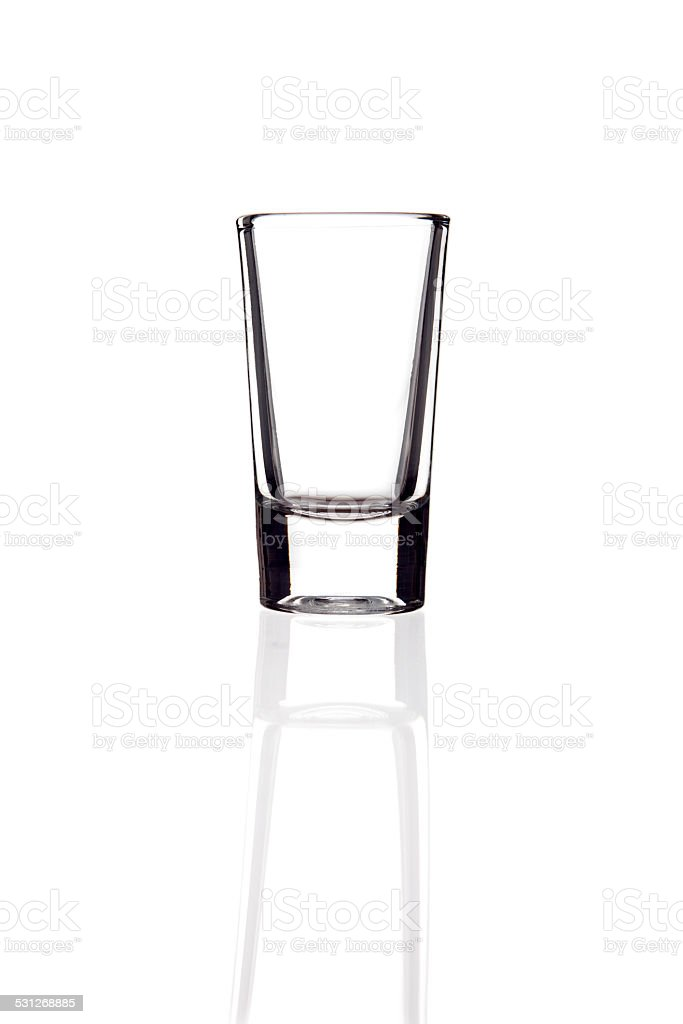 Vodka Glass XXXL stock photo