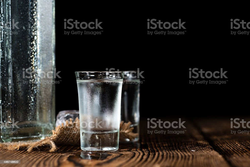 Vodka Shot stock photo
