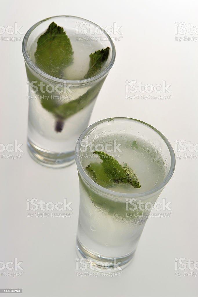 Vodka Shots royalty-free stock photo
