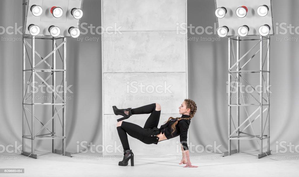 Vogue Dance Pose stock photo