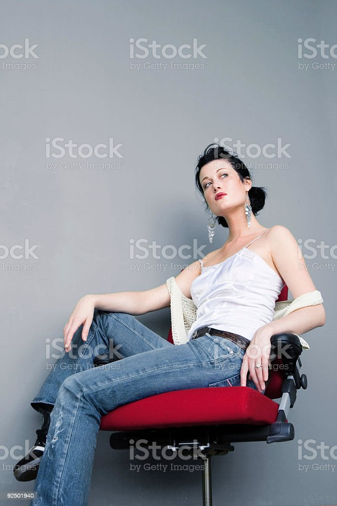 Vogue royalty-free stock photo