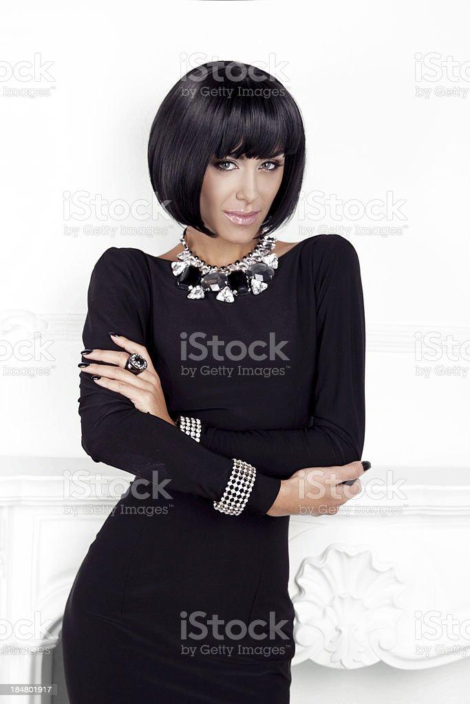 14277e6d4fb Photo de stock de Style De Vogue Beauté Mode Sexy Femme Dans Une ...