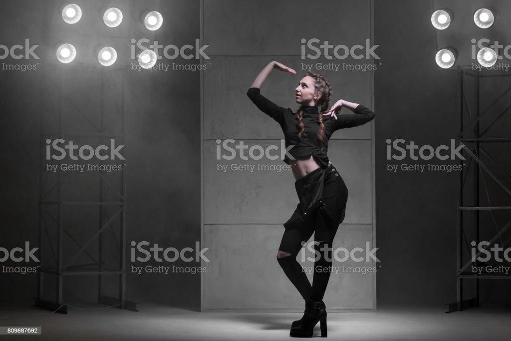 Vogue Style Female Dancer stock photo