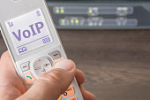 Voice over IP as a future standard for telecommunications on a phone screen
