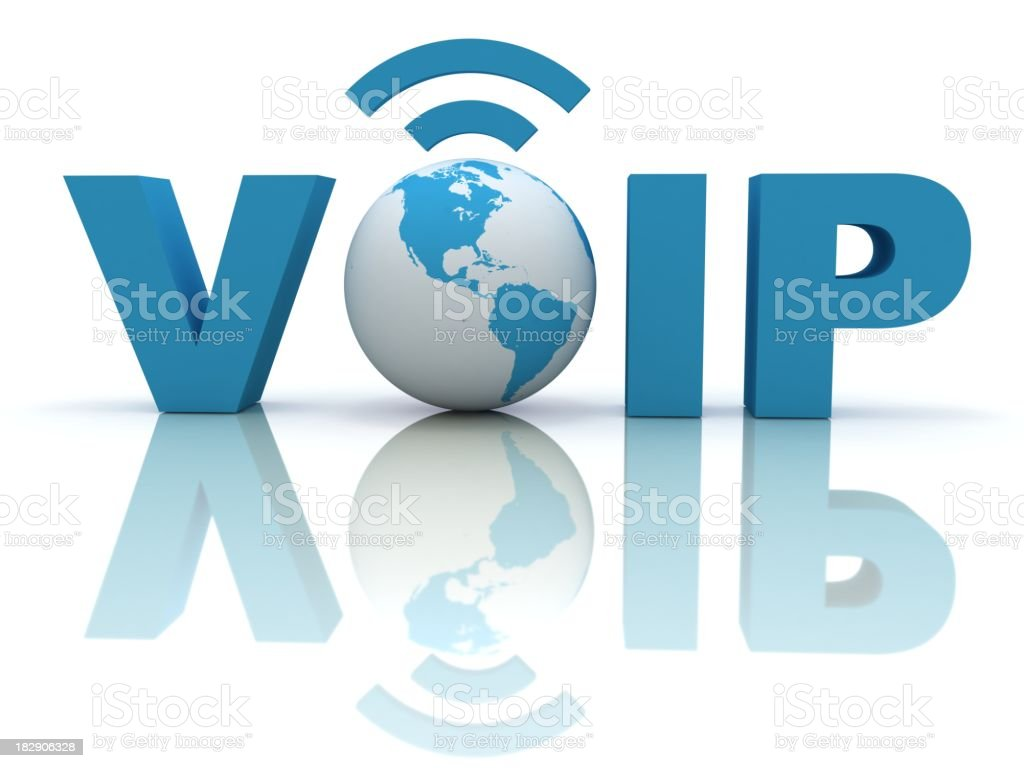 Voice Over IP stock photo