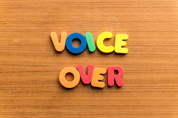 voice over stock photo