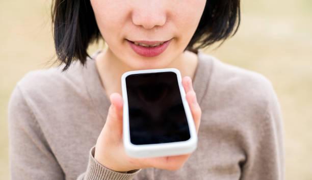 spracherkennung - geräusche app stock-fotos und bilder