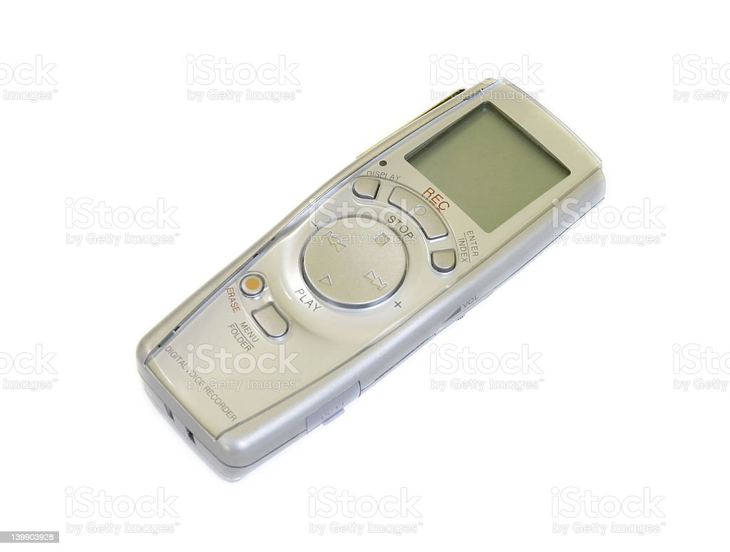 Voice Recorder royalty-free stock photo