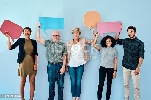 istock Voicing out our opinions 1172213066