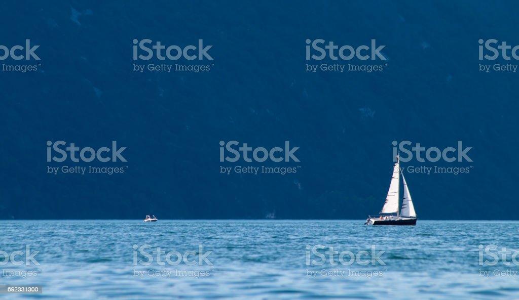 Voilier sur le Lac du Bourget - Photo