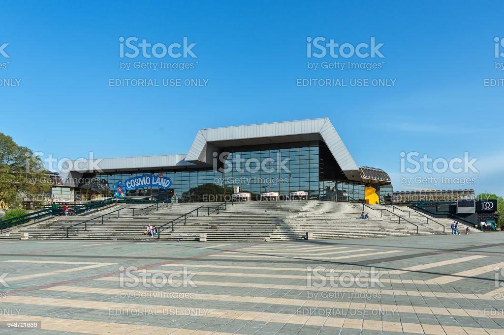 SPC Vojvodina (Sports Center), commonly referred to as SPENS, is a multi-purpose venue located in Novi Sad, Vojvodina, Serbia. stock photo