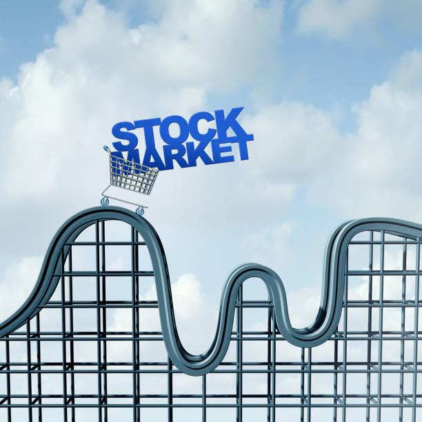 Volatile Stock Market stock photo