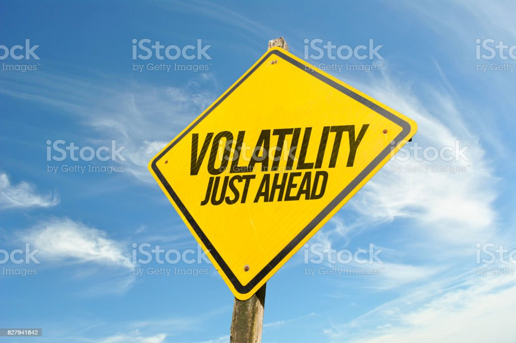 Volatility Just Ahead stock photo