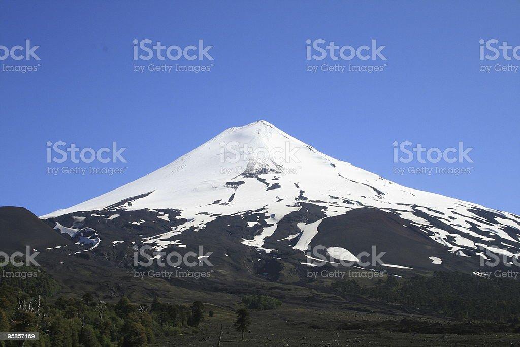 Vulkan Llaina in Chile – Foto