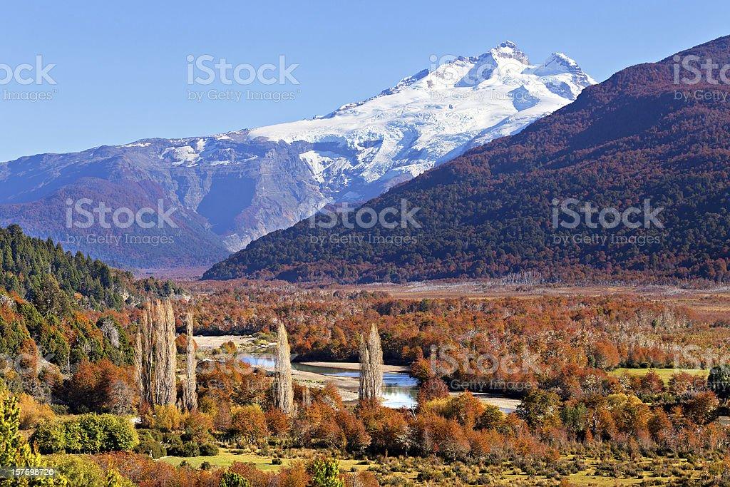 Volcan Tronador, Argentina stock photo