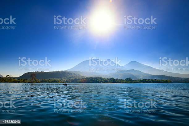 Photo of Volcanic Atitlan Lake in Guatemala