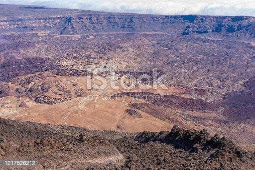 istock Volcanic bottom. 1217526212