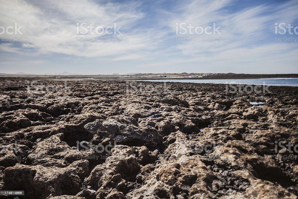 Volcanic Coast royalty-free stock photo