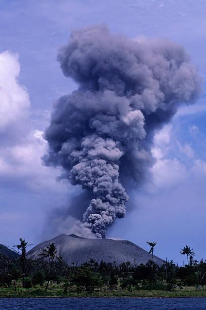 Vulkanausbruch – Foto