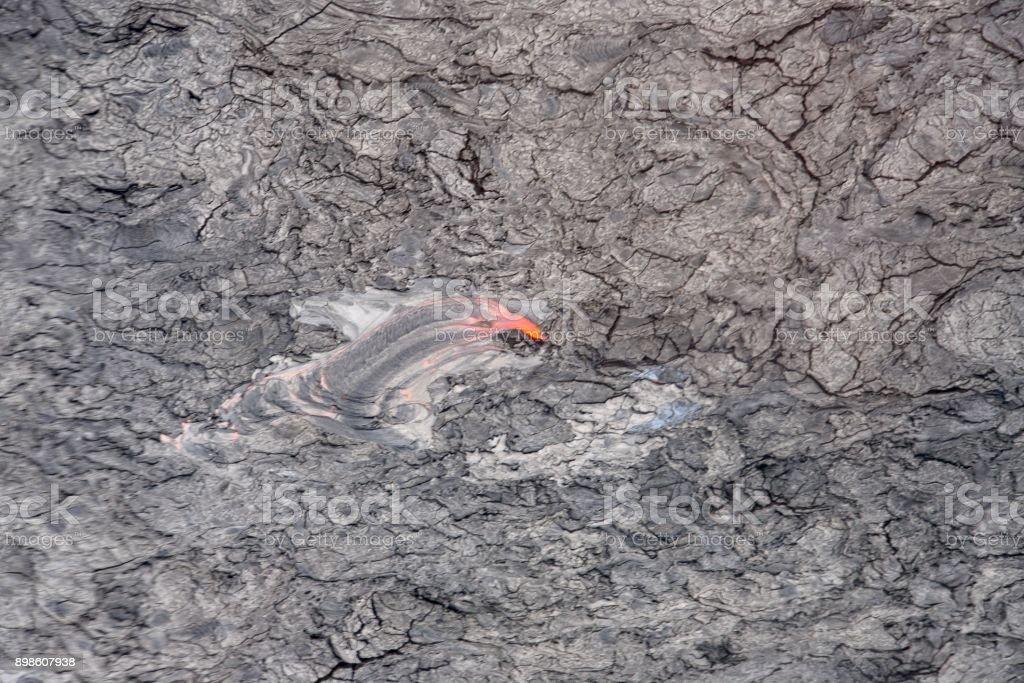Volcanic Hot Spot Creature stock photo