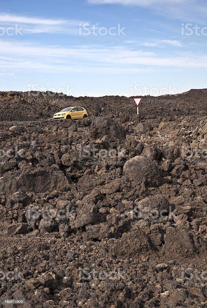 Vulkanlandschaft auf Lanzarote – Foto