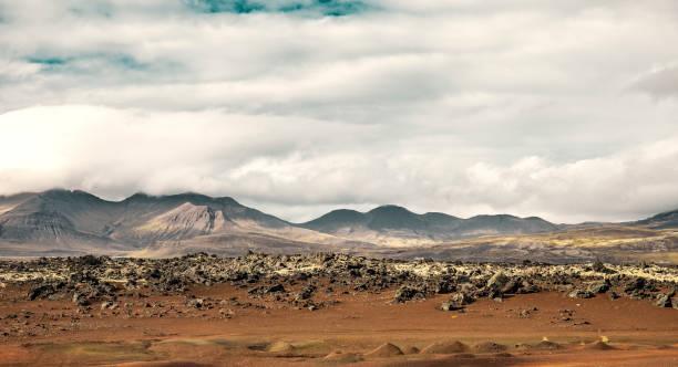 Vulkanlandschaft in Snaefellsnes Island – Foto