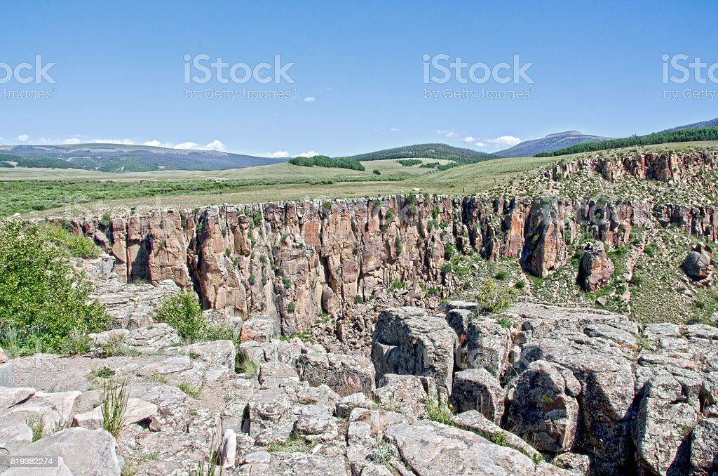 Volcanic Landscape Near Creede, Colorado - Photo