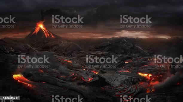 Photo of Volcanic landscape