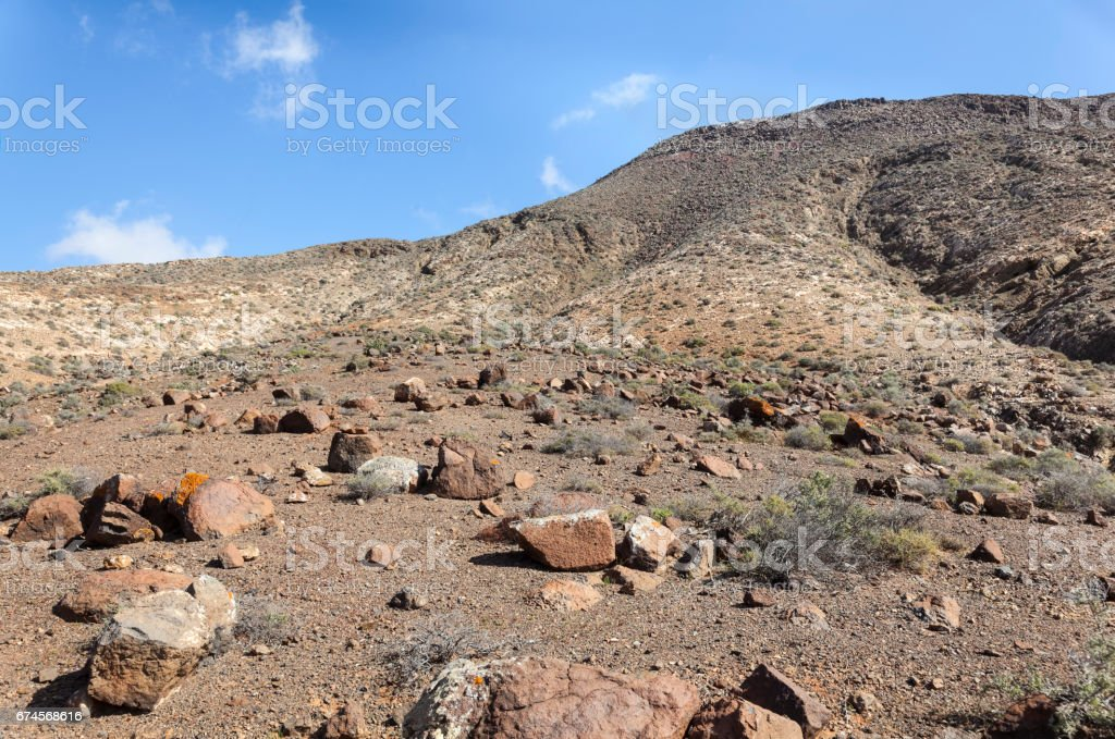 Volcanic Landscape stock photo