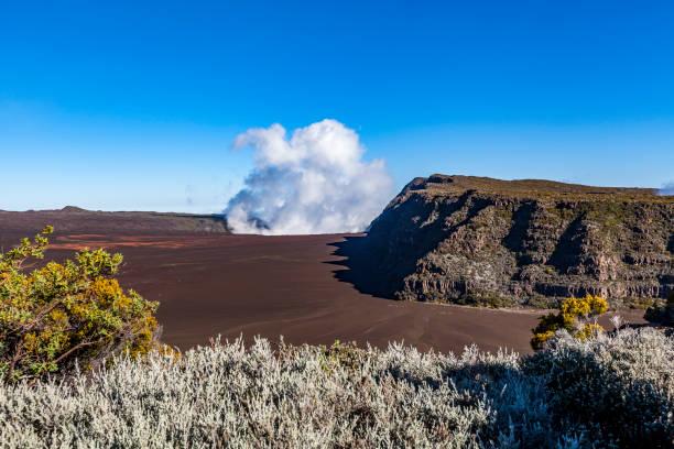 Vulkanlandschaft, La Réunion, Maskarenen – Foto