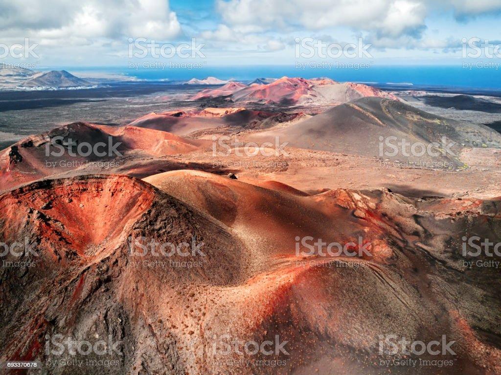Vulkanlandschaft, Nationalpark Timanfaya, Lanzarote, Kanarische Inseln – Foto