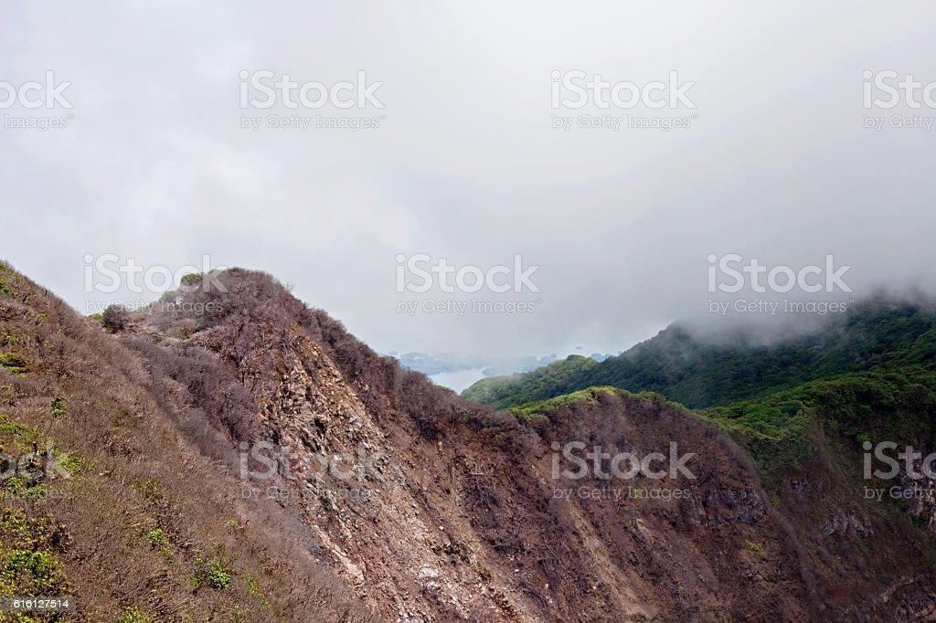 Volcanic Ridge stock photo