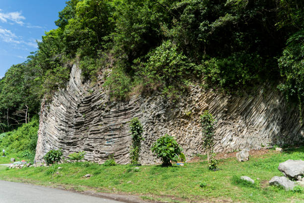 Volcanic Rock Formation für Kletterübungen in Boquete Panama – Foto