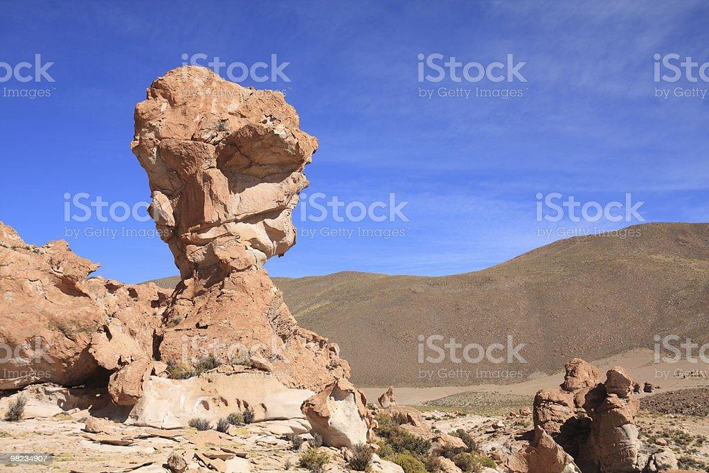 Volcanic rock royalty-free stock photo
