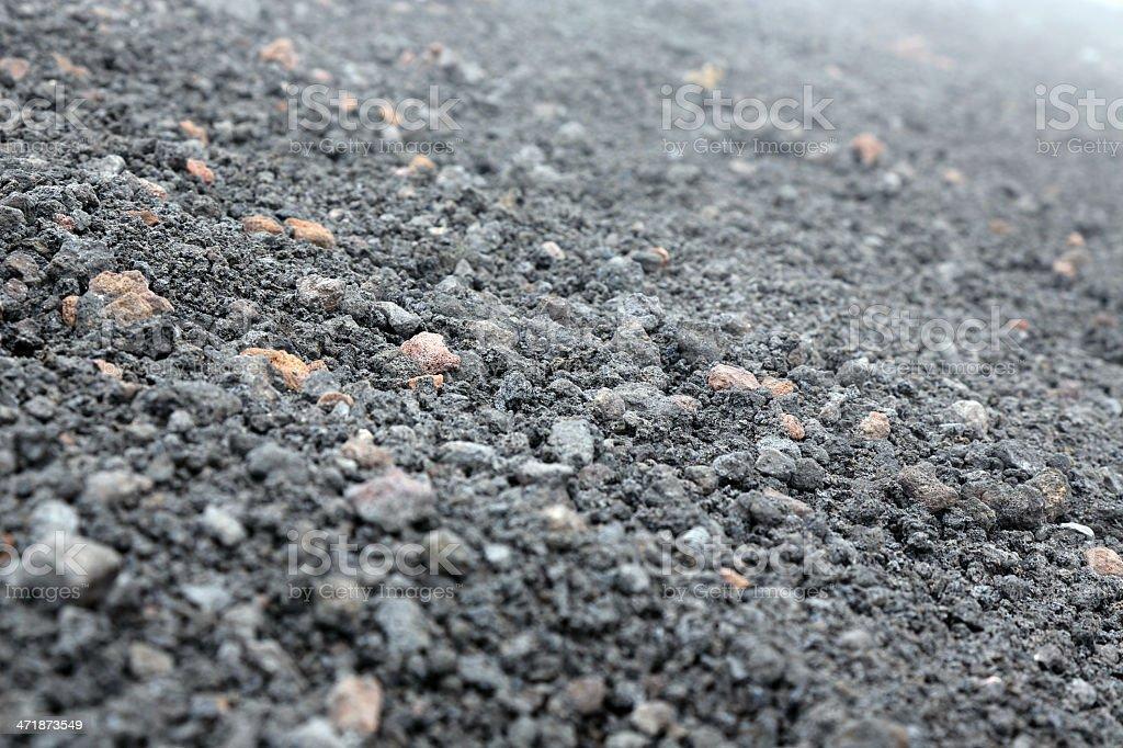 Volcanic rocks royalty-free stock photo