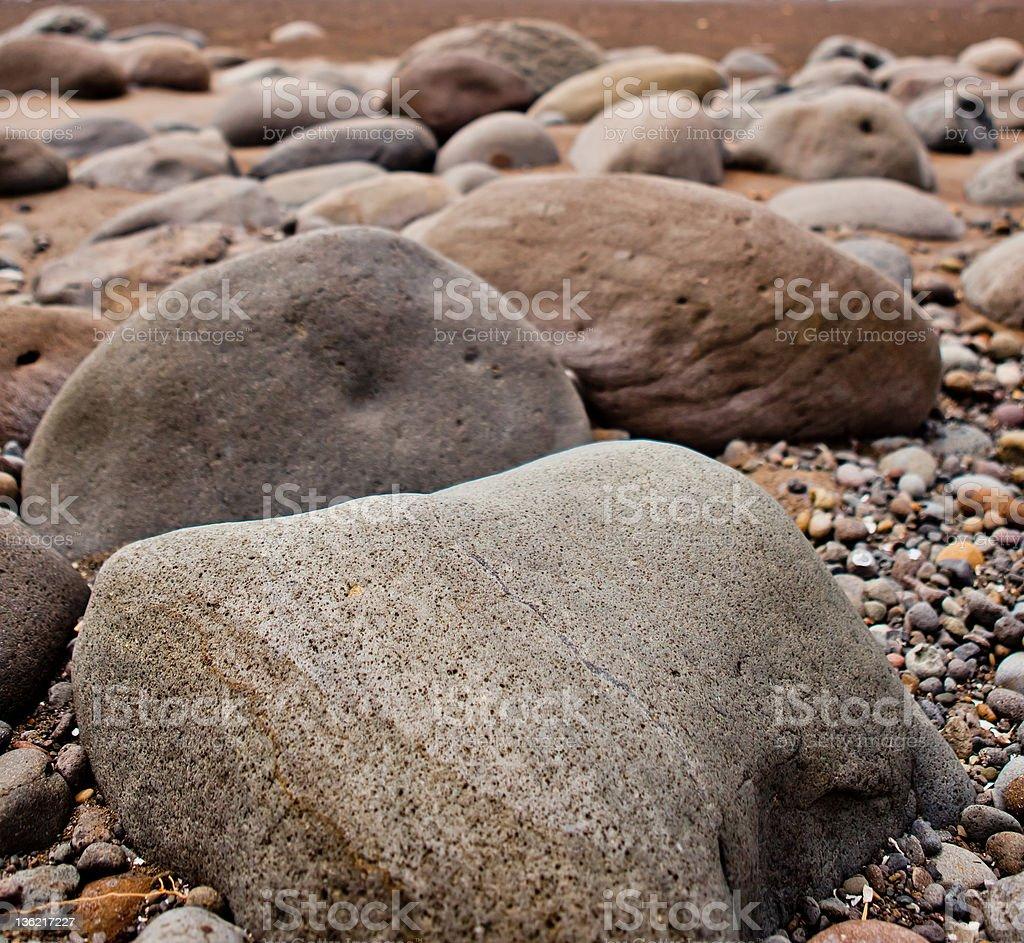 volcanic stones royalty-free stock photo