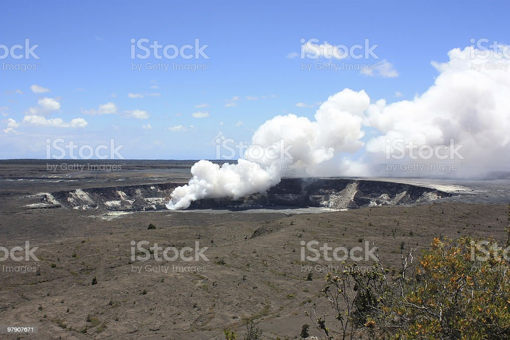 Volcanic Vent royalty-free stock photo