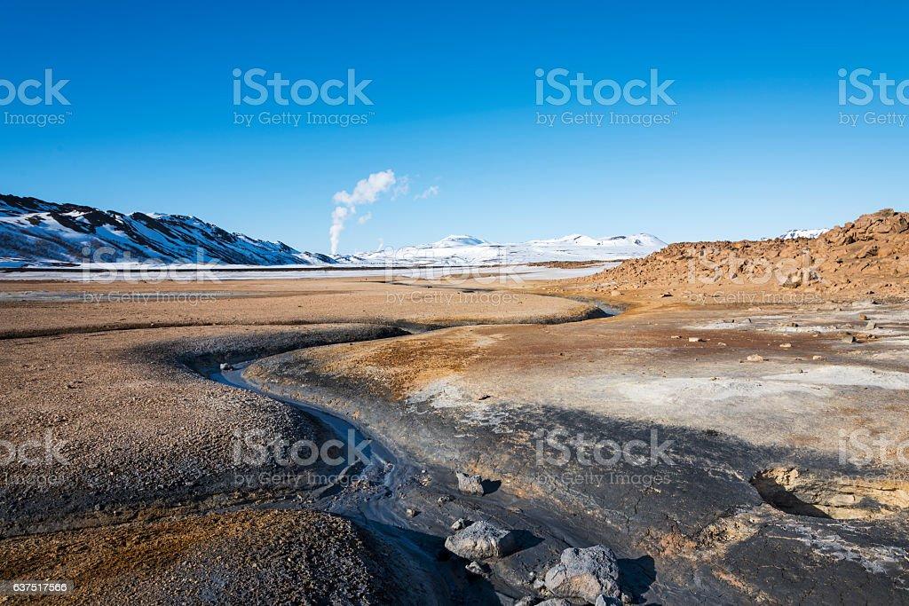 Volcanic Zone stock photo
