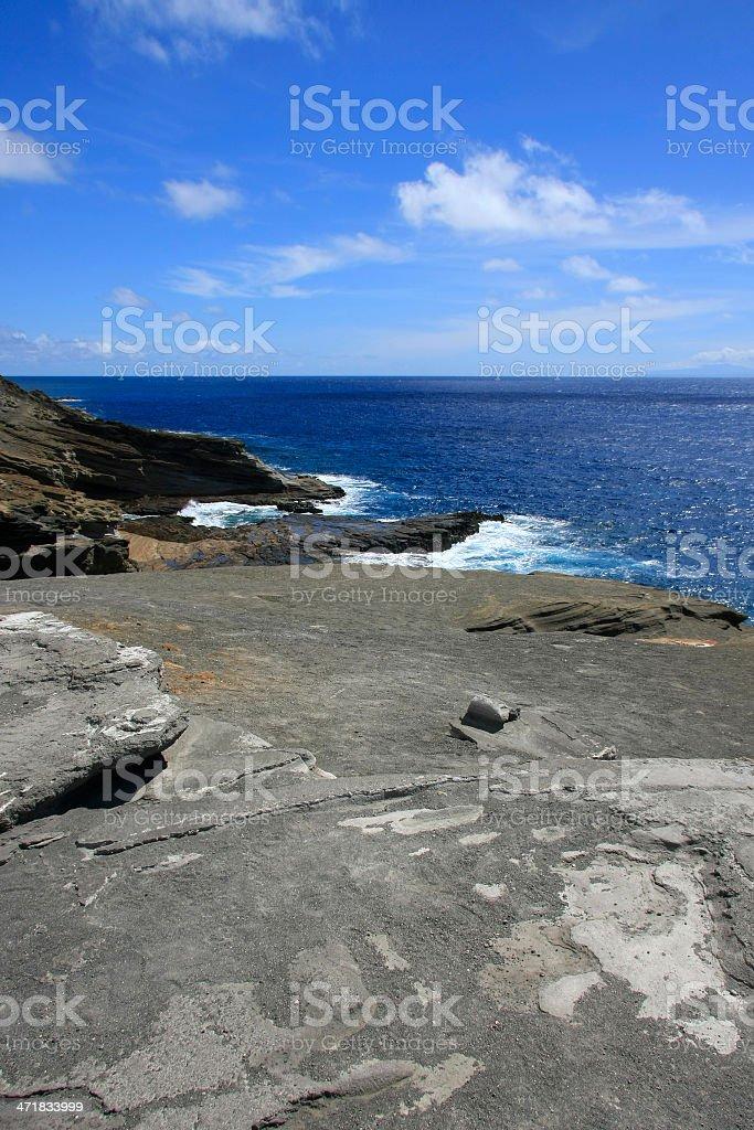 Volcano coast royalty-free stock photo