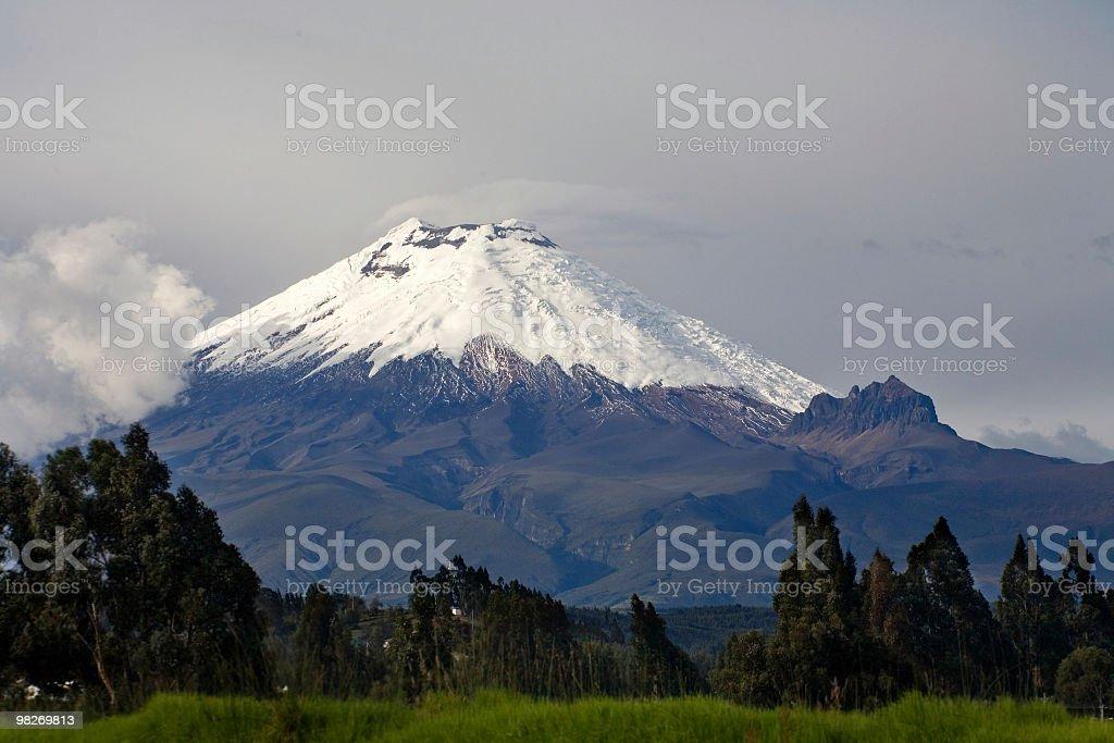 Volcano Cotopaxi royalty-free stock photo