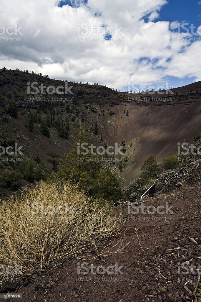 Bandera Volcano stock photo