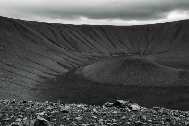 Volcano, Iceland stock photo