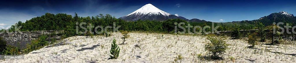 volcano Osorno stock photo