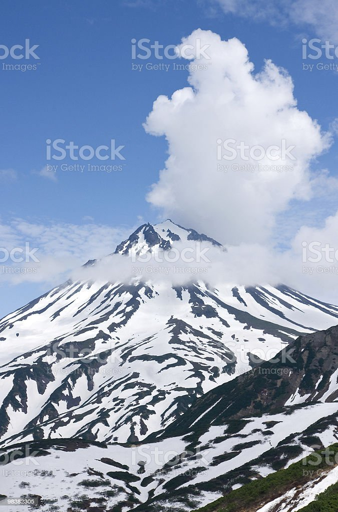 volcano royalty-free stock photo