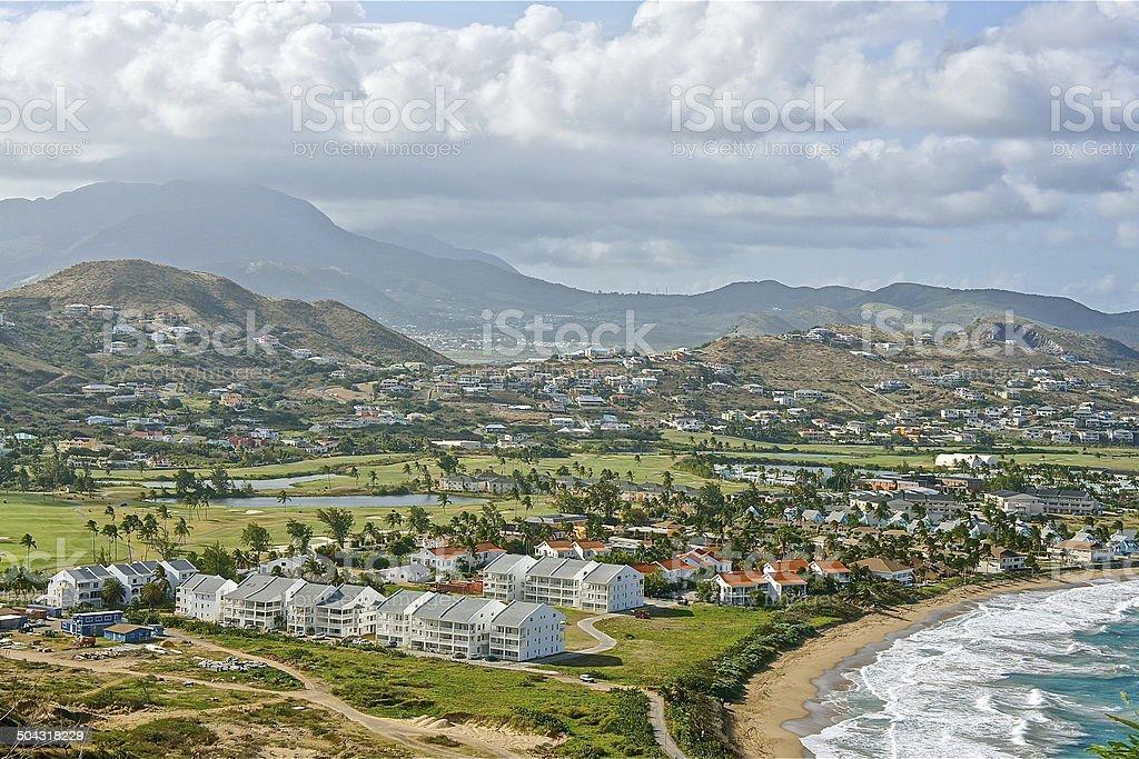 Volcano Resorts royalty-free stock photo