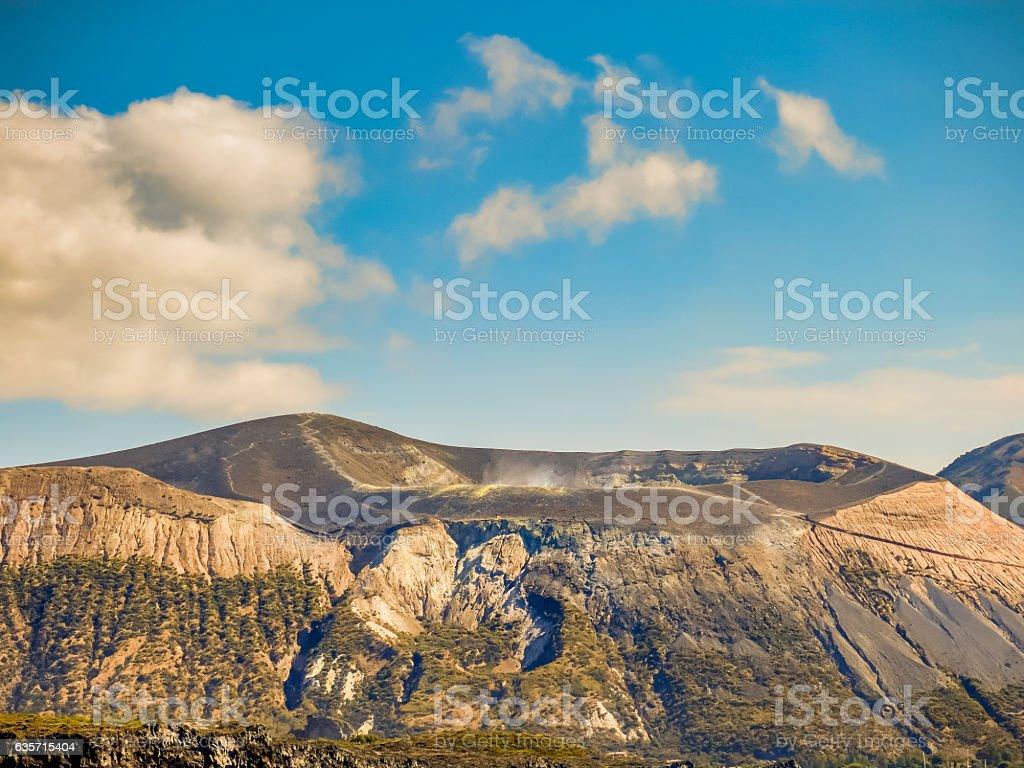 volcano sicily royalty-free stock photo