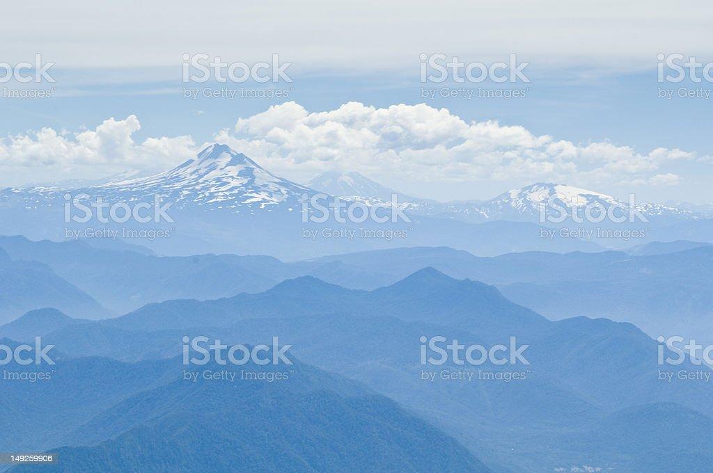 Volcán Llaima stock photo